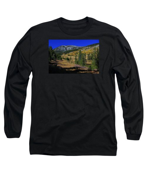 Long Sleeve T-Shirt featuring the photograph Sierra Fall  by Sean Sarsfield