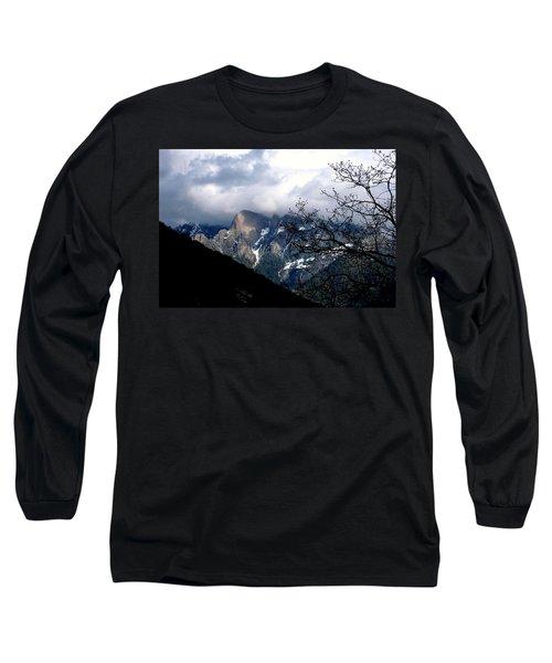 Sierra Nevada Snowy View Long Sleeve T-Shirt by Matt Harang