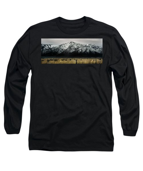 Sierra Nevada Mountains Near Lake Tahoe Long Sleeve T-Shirt