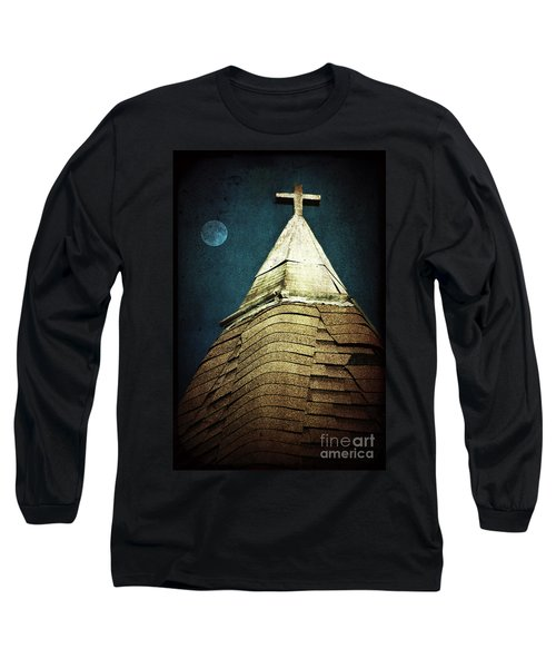 Silent Night Long Sleeve T-Shirt by Trish Mistric