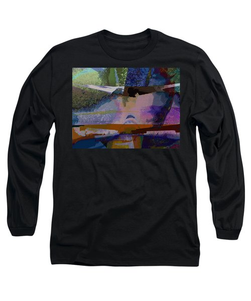 Long Sleeve T-Shirt featuring the photograph Silhouette And Shadows by David Pantuso