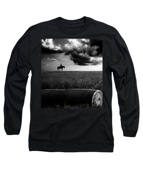 Silhouette Bw Long Sleeve T-Shirt