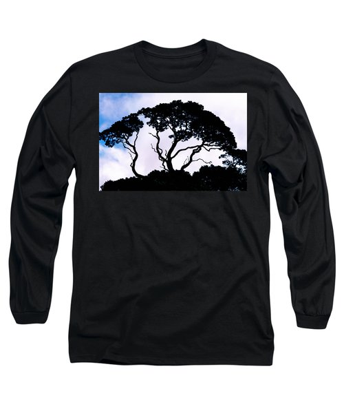 Long Sleeve T-Shirt featuring the photograph Silhouette by Jim Thompson