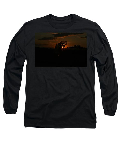 Silk Sunset Long Sleeve T-Shirt