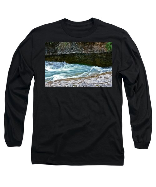 Silky Flow Long Sleeve T-Shirt by Linda Bianic