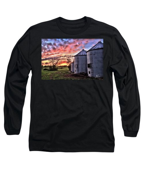 Silo Sunset Long Sleeve T-Shirt