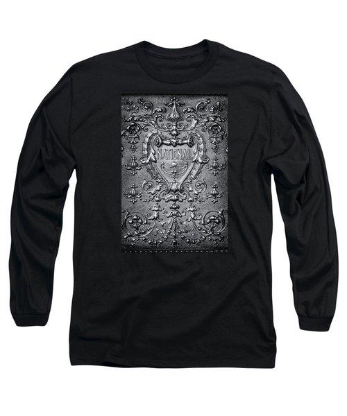Silver Flourish Long Sleeve T-Shirt