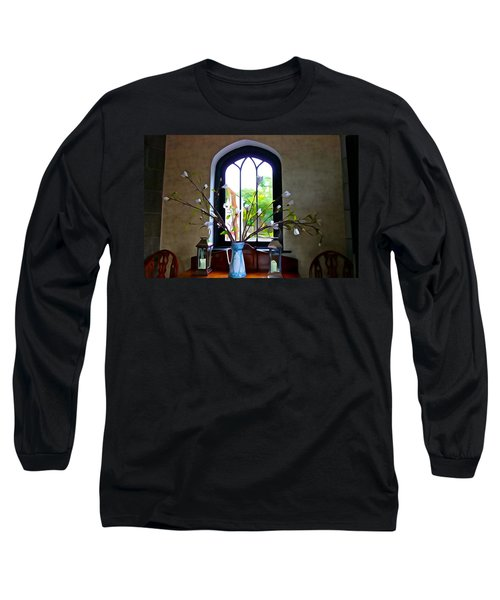 Long Sleeve T-Shirt featuring the photograph Simple Elegance by Charlie and Norma Brock