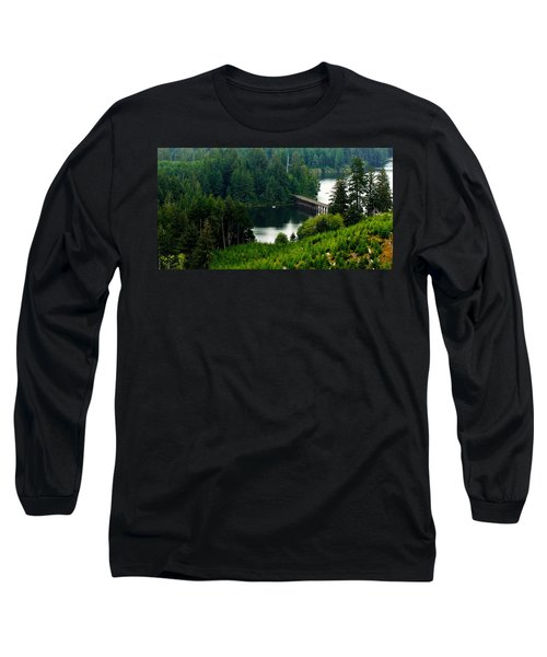 Long Sleeve T-Shirt featuring the photograph Single Boat by Katie Wing Vigil