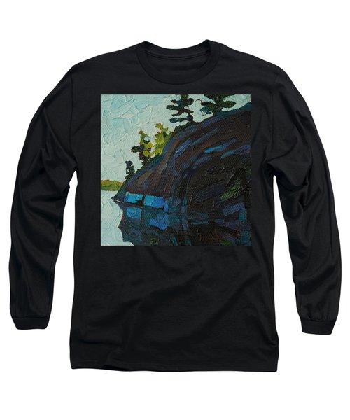 Singleton South Shore Long Sleeve T-Shirt by Phil Chadwick