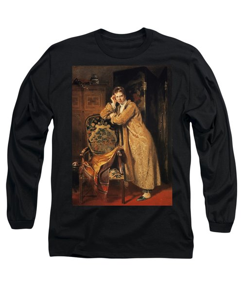Sir David Wilkie 1785-1841, 1816 Panel Long Sleeve T-Shirt