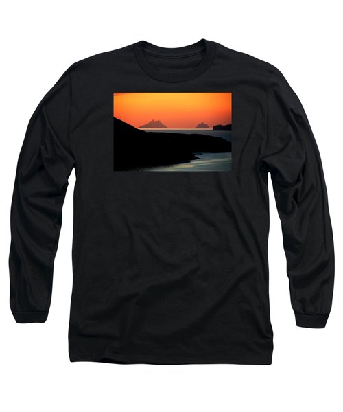 Skellig Islands  Long Sleeve T-Shirt