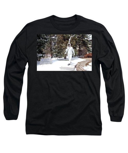 Ski Trooper Long Sleeve T-Shirt by Fiona Kennard