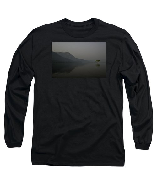 Long Sleeve T-Shirt featuring the photograph Skc 0086 Solitary Isolation by Sunil Kapadia