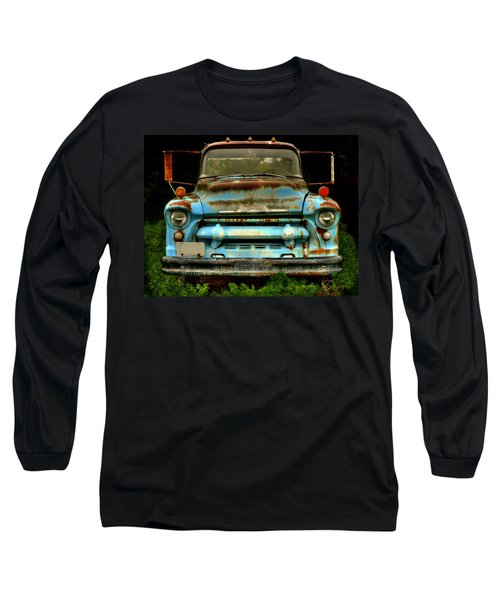 Sky Blue And Still Cool Long Sleeve T-Shirt