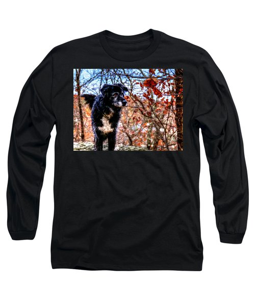 Sky Looking Long Sleeve T-Shirt