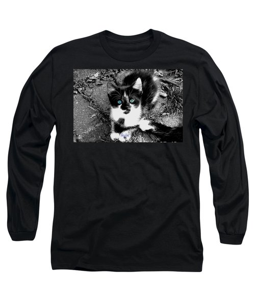 Skylar Aka Dottie Long Sleeve T-Shirt by Cynthia Lassiter