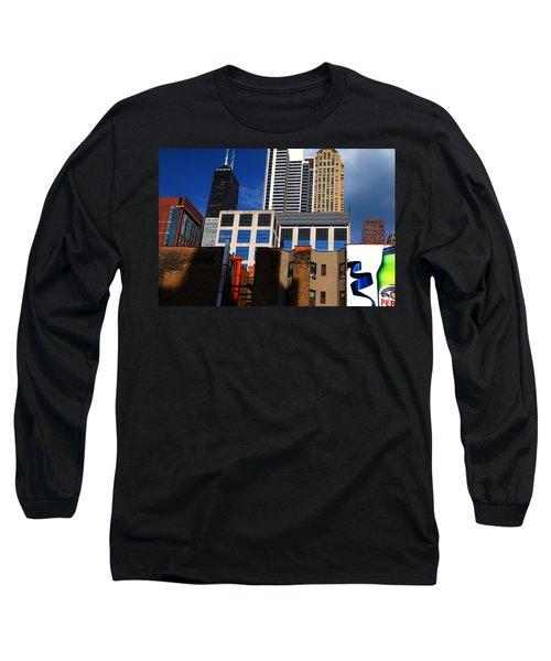 Skyline Building Blocks Long Sleeve T-Shirt