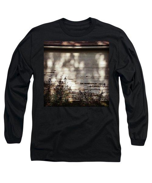 Slats And Shadows Long Sleeve T-Shirt