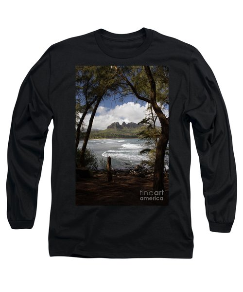 Long Sleeve T-Shirt featuring the photograph Sleeping Giant by Suzanne Luft