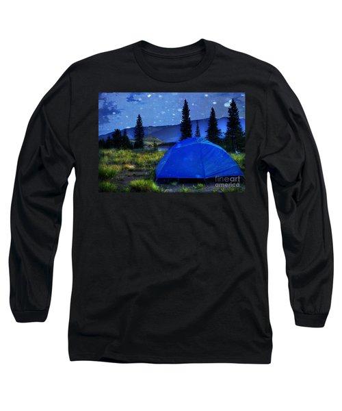 Sleeping Under The Stars Long Sleeve T-Shirt