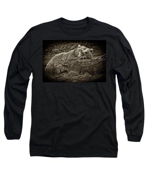 Sleepy Bear Long Sleeve T-Shirt