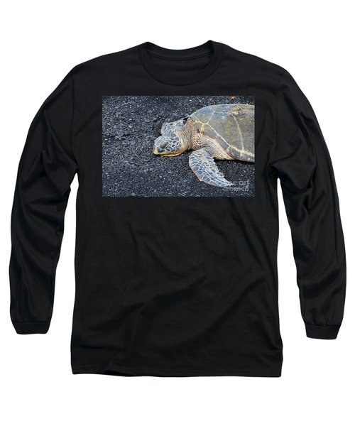 Sleepy Head Long Sleeve T-Shirt by David Lawson