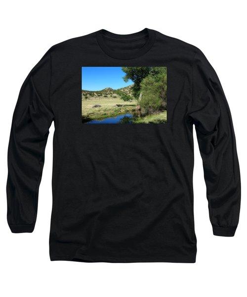 Sleepy Summer Afternoon Long Sleeve T-Shirt by Elizabeth Sullivan
