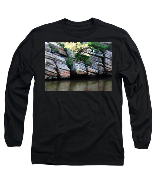 Sliced Rock Long Sleeve T-Shirt