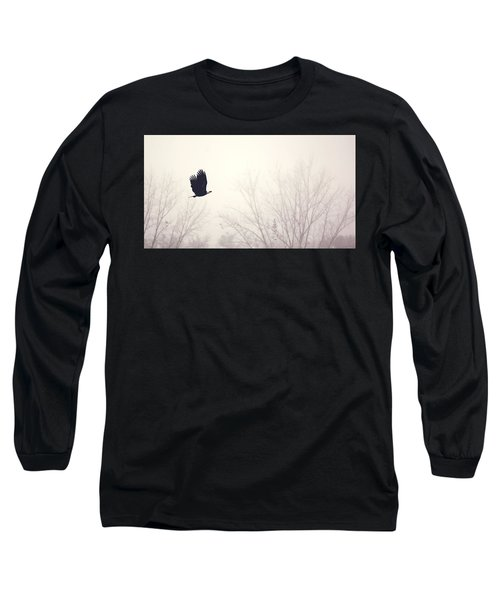 Slicing Through The Fog Long Sleeve T-Shirt
