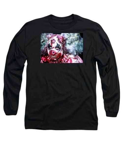 Long Sleeve T-Shirt featuring the photograph Sly Death by Stwayne Keubrick