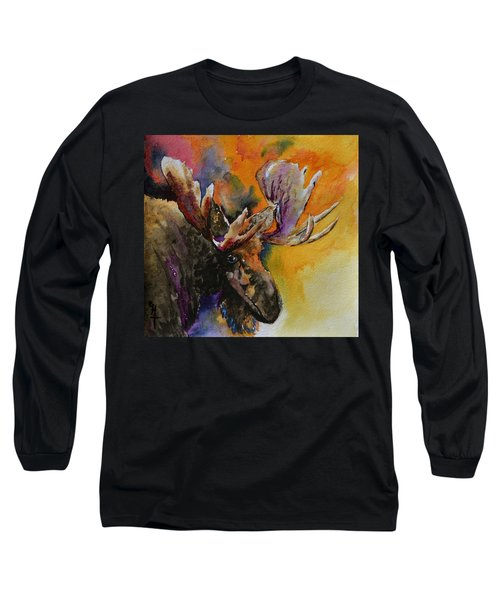 Sly Moose Long Sleeve T-Shirt
