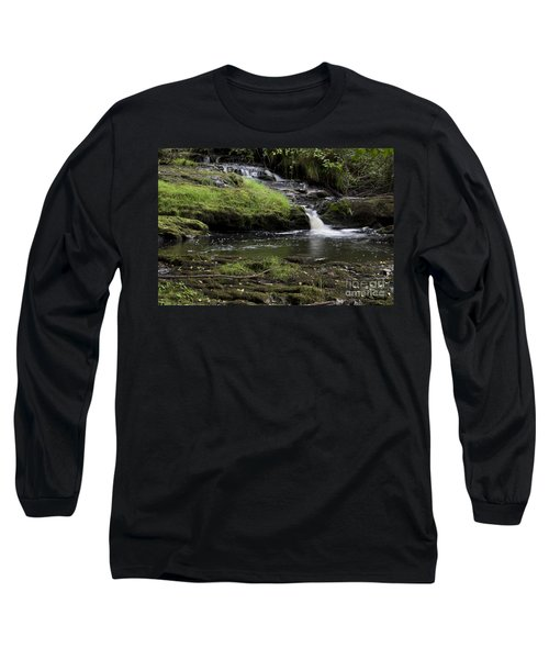 Small Falls On West Beaver Creek Long Sleeve T-Shirt by Kathy McClure