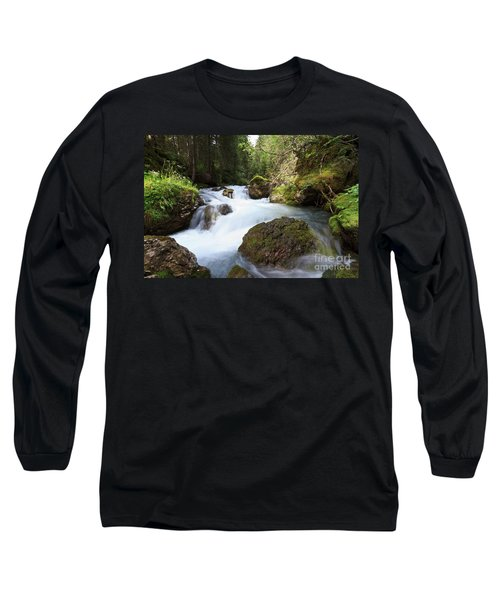 Long Sleeve T-Shirt featuring the photograph Small Stream by Antonio Scarpi