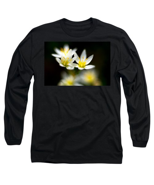Small White Flowers Long Sleeve T-Shirt