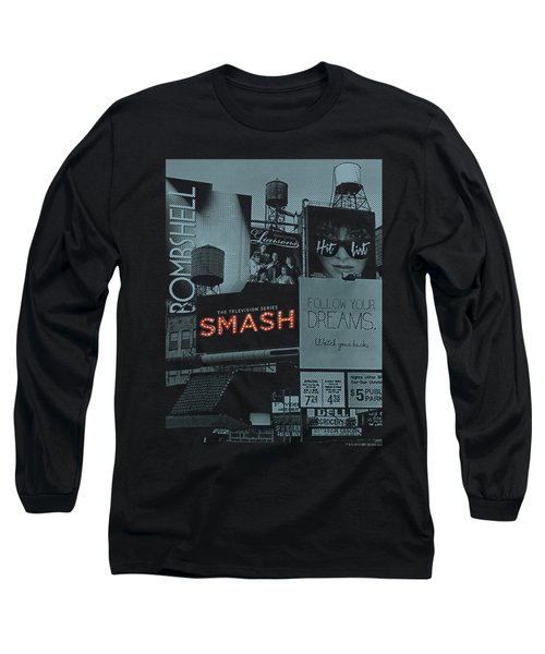 Smash - Billboards Long Sleeve T-Shirt by Brand A