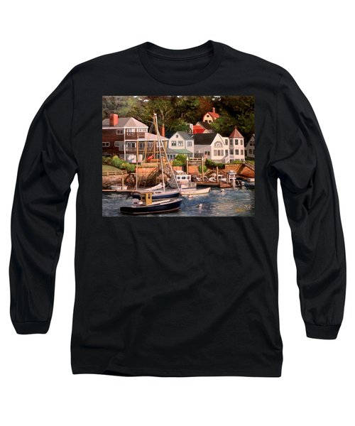 Smiths Cove Gloucester Long Sleeve T-Shirt by Eileen Patten Oliver