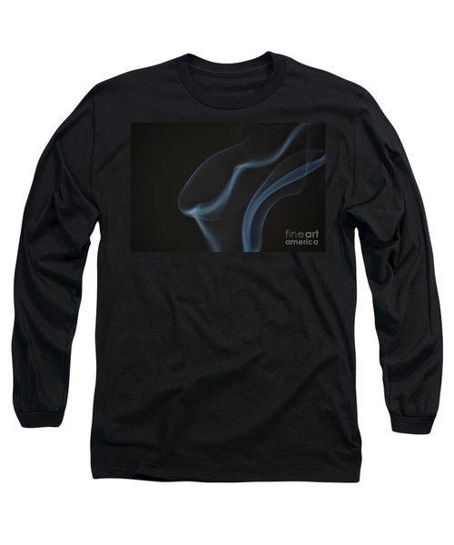 Smoke 1 Long Sleeve T-Shirt by Patrick Shupert