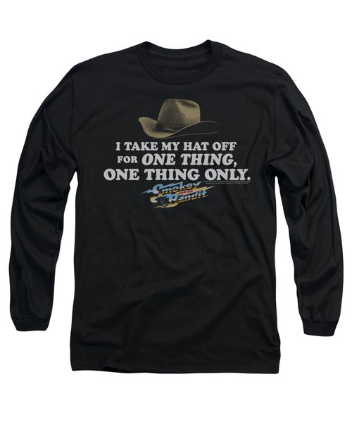 Smokey And The Bandit - Hat Long Sleeve T-Shirt