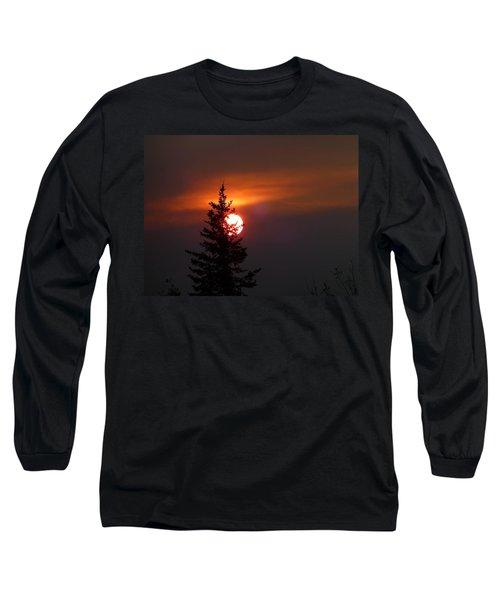 Smokey Sky  Long Sleeve T-Shirt