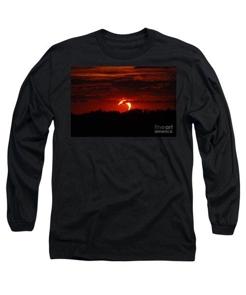 Smokin Moon Long Sleeve T-Shirt