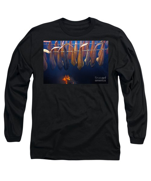 Smoking Fish Long Sleeve T-Shirt