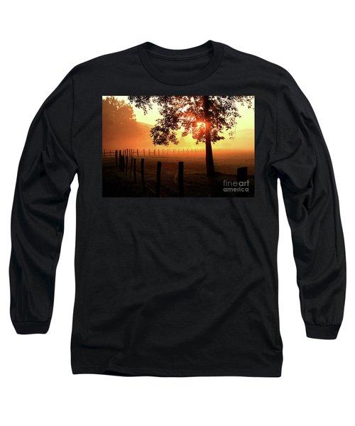 Smoky Mountain Sunrise Long Sleeve T-Shirt