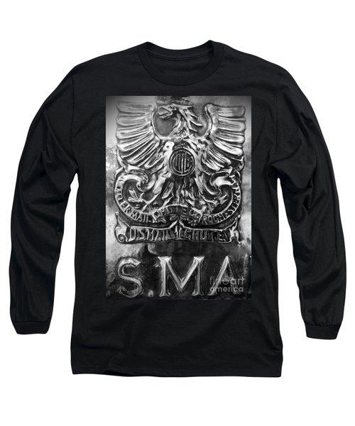 Long Sleeve T-Shirt featuring the photograph Snail Mail by James Aiken