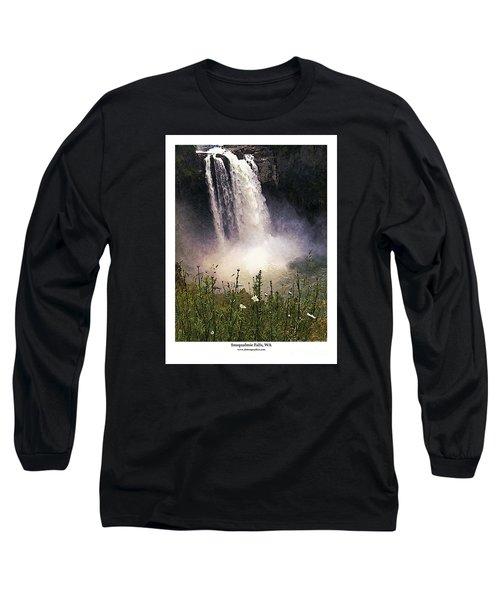 Snoqualmie Falls Wa. Long Sleeve T-Shirt