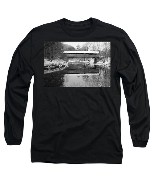 Snow Covered Coombs Long Sleeve T-Shirt