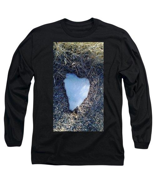 Snow Heart Long Sleeve T-Shirt