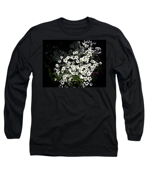 Long Sleeve T-Shirt featuring the photograph Snow In Summer by Joann Copeland-Paul