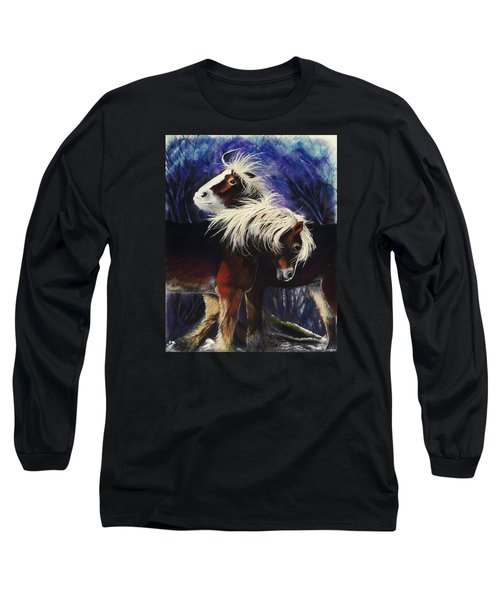 Snow Ponies Long Sleeve T-Shirt