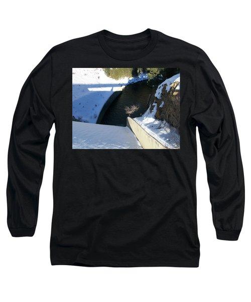 Snow Slide Long Sleeve T-Shirt by Jewel Hengen